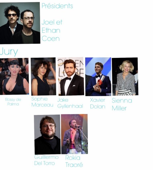 Cannes 2015 : Le jury