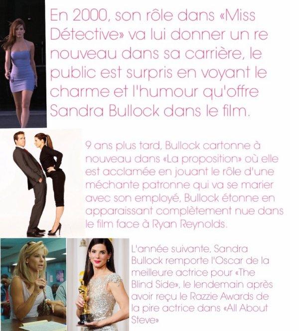 Sandra Bullock élue plus belle femme du monde