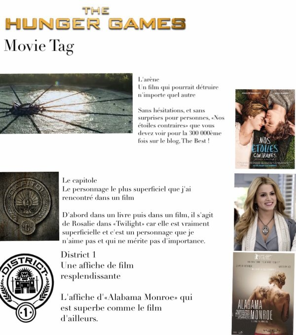 The Hunger Games | Movie Tag