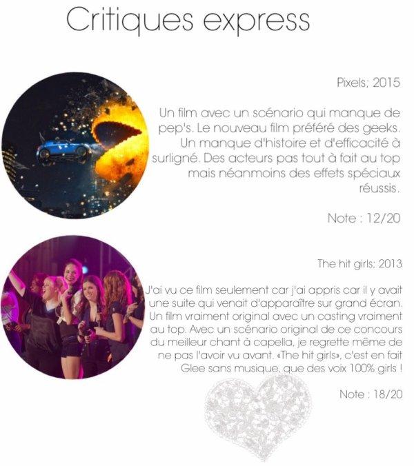 Critiques Express #9