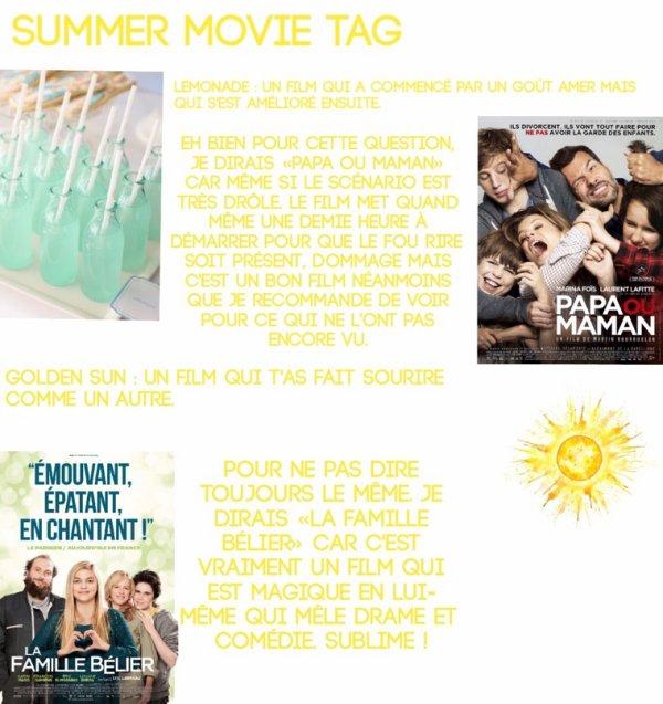 Summer movie tag