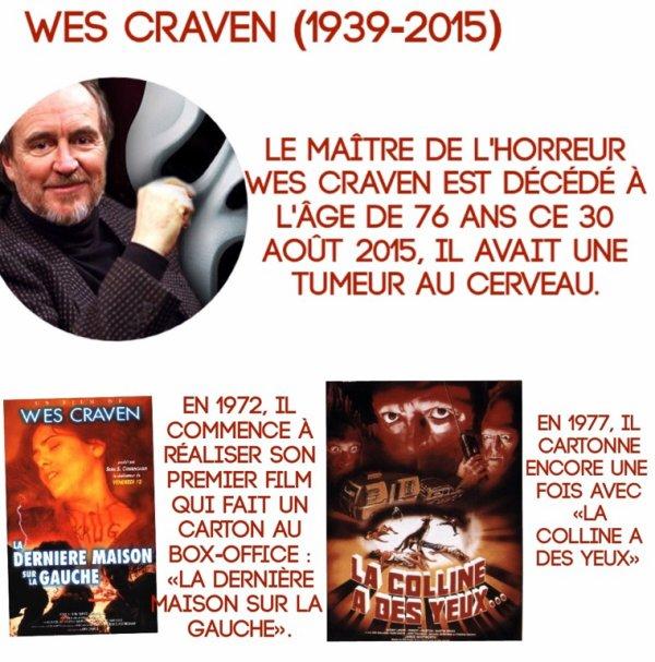 Wes Craven (1939-2015)