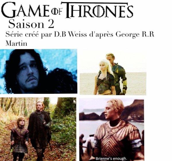 Game of Thrones, saison 2