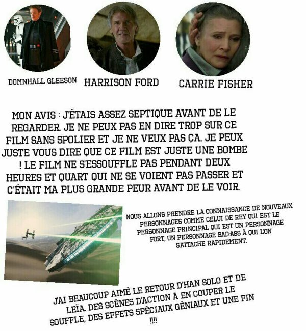 Star Wars VII : Le réveil de la force