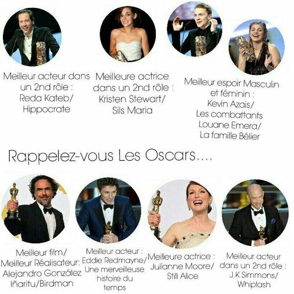Rétro ciné 2015 | Bilan actus