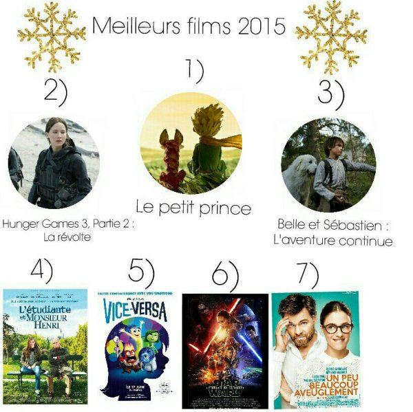 Rétro ciné 2015 | Bilan films
