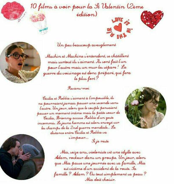 10 films à voir pour la St Valentin  (2ème édition)