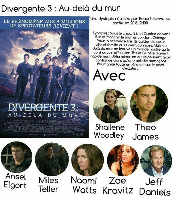 Divergente 3 : Au delà du mur