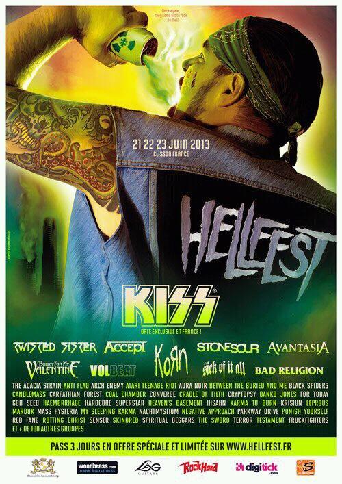 Hellfest 2O13 *-*