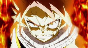 natsu en colère
