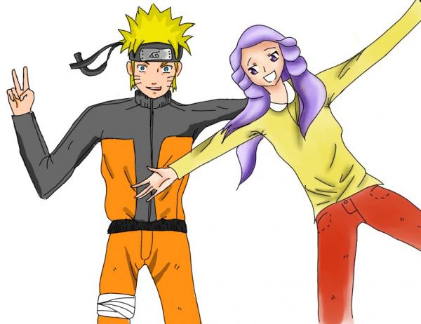 Finition Naruto ( usumaki ) & moi