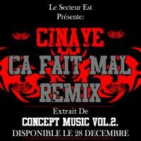 Concept Music Vol.2. / Cinaye- Ca Fait Mal. (2009)