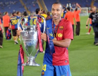 Thierry Henry enfin sacré en Ligue des champions