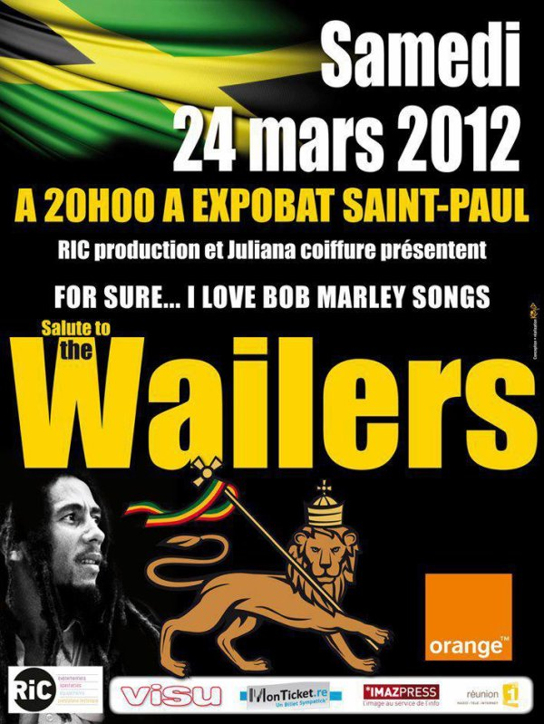 Affiche The Wailers 2012