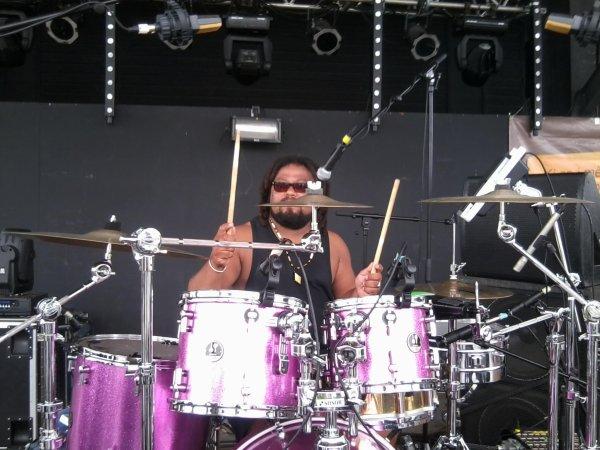 The International Reggae Drummer Reunion Island Indian Ocean.