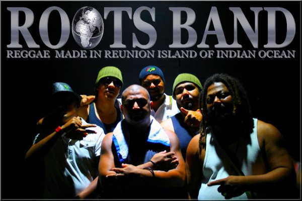 ROOTS BAND REGGAE MADE IN REUNION ISLAND OF INDIAN OCEAN