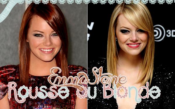 Rousse ou Blonde ?