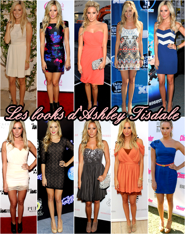 Les Looks d'Ashley Tisdale