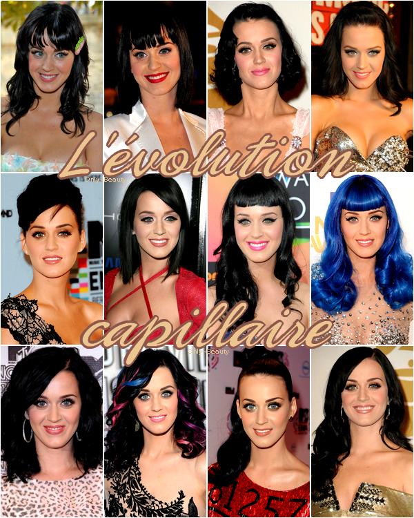 L'évolution capillaire Katy Perry