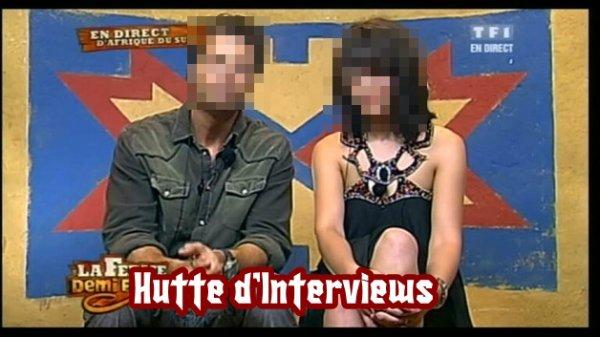 Hutte d'Interviews