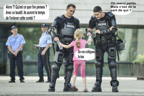 humour policier mais il faut avoir une ptite chipie