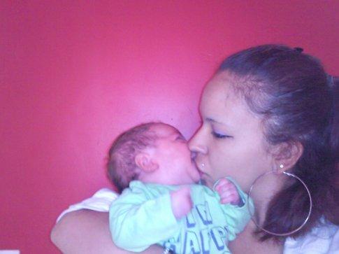 <3 un amour eternel entre moi et mon fils <3