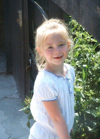 Voici ma deuxieme fille Audrey