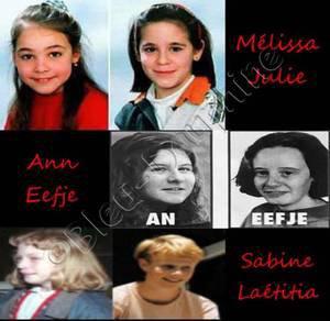 Julie, Mélissa, An, Eefje, Sabine, Laetitia