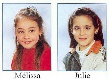 Mélissa, Julie, An, Eefje reposez en paix