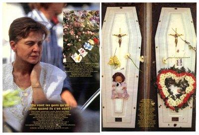 L'enterrement des deux petites