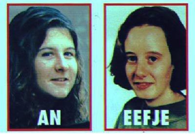Julie, Mélissa, An, Eefje..