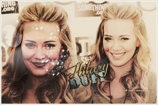 ◊ Bienvenue sur Duff-Source, ta source sur la belle actrice et chanteuse Hilary Duff !