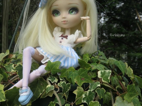 Dolls Photos #2 : Ami l'exploratrice des jardins xD