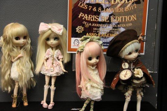 Little Dolls In Paris ! 3rd time !!