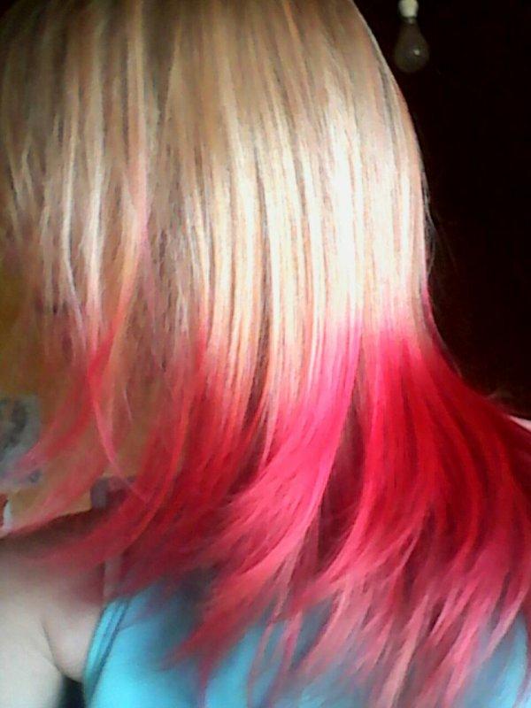 J'ai eu mon brevet donc j'ai mes cheveux roses youpii
