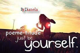 Just Be Yourself..
