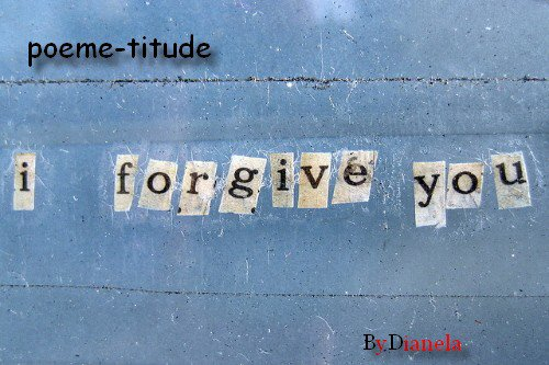 I Forgive
