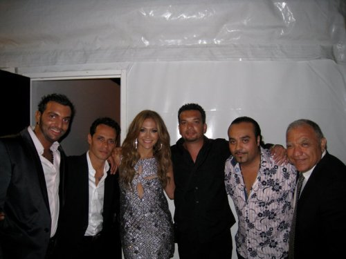ANTONIO MARC ANTHONY  JENNIFER LOPEZ  PACO DE PLATA  CHICO CASTILLO