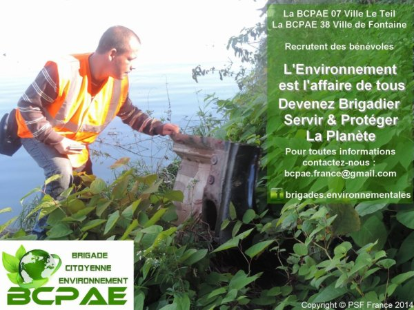 APPEL A LA MOBILISATION ENVIRONNEMENTALE (Département Ardèche)