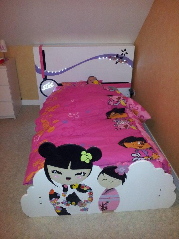 lit de ma fille