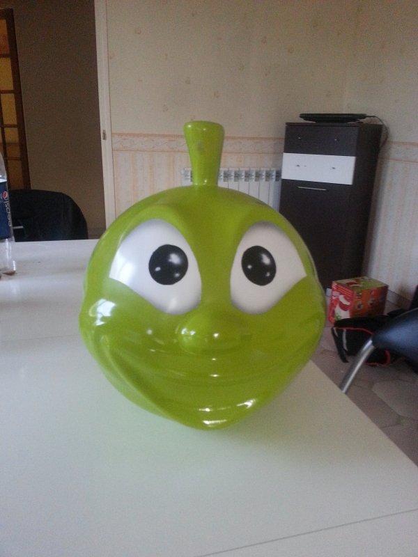 Pomme jet d'eau-jeux aquatique
