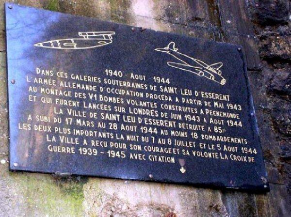 Trois autres carrières souterraines converti en base de bombe volante V1 et V2