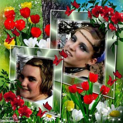 Charlène et Amandine