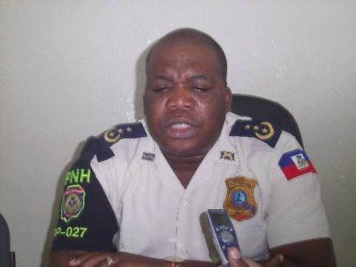 Sud'est – Sécurité : Godson Aurélus est le nouveau directeur de la PNH régionale