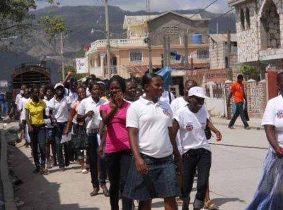 Jacmel – Société : Commémoration de la Journée internationale de la Femme