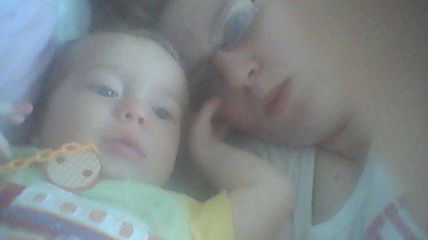 moi et mon deuxiemme de ma vie mon neveu