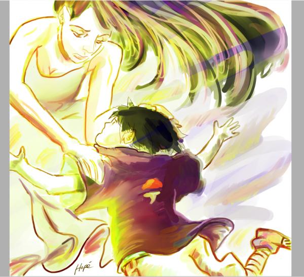 Sasuke/Mikoto Uchiha Illustration PTS