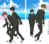 Le film animation High Speed: Free! Starting Days, en Visual Art