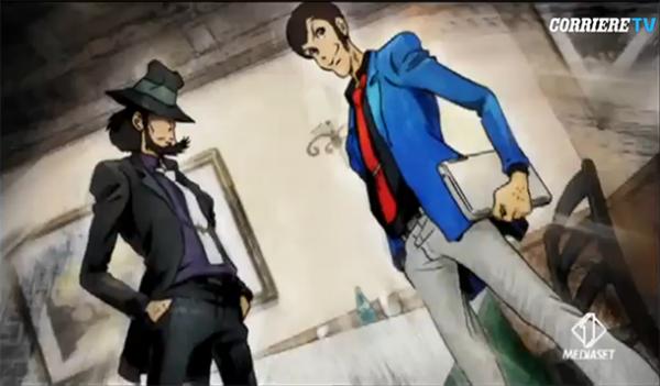 La série animée Lupin The Third, en Opening