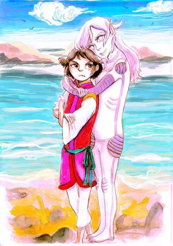 Kuden-Itaike version Aquarelle.